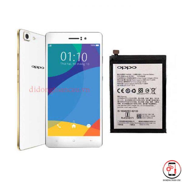 Thay pin Oppo R5