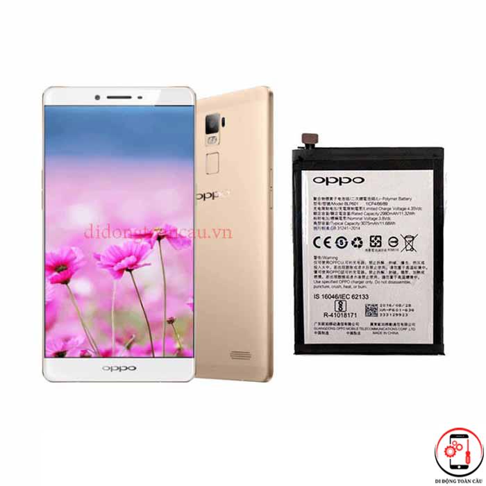 Thay pin Oppo R7 Plus