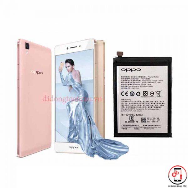 Thay pin Oppo R7s