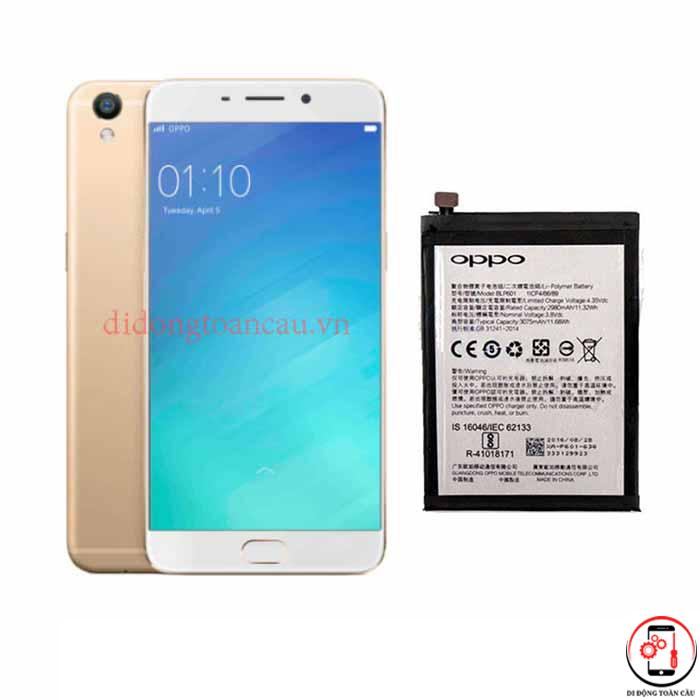 Thay pin Oppo R9 Plus