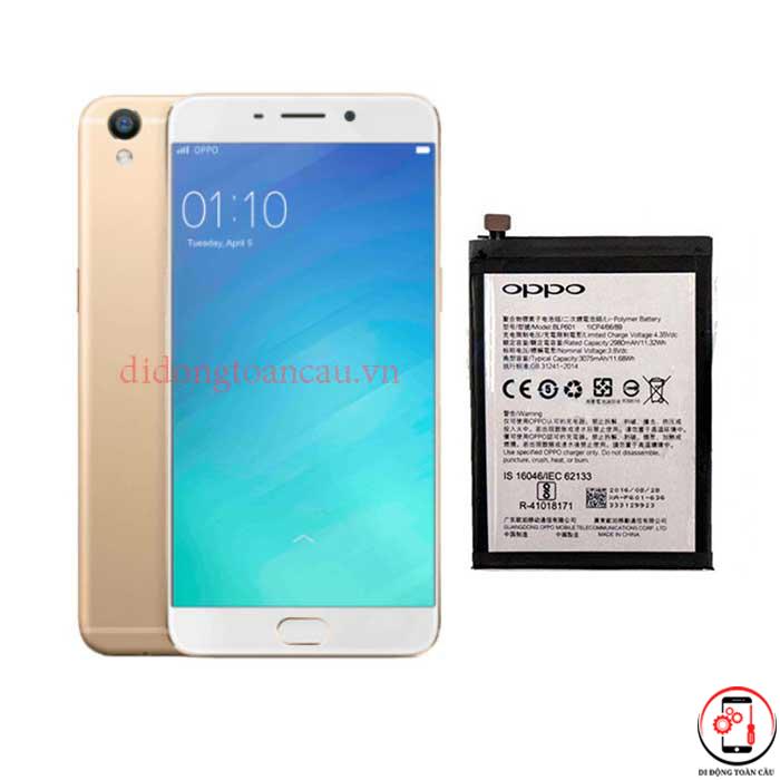 Thay pin Oppo R9