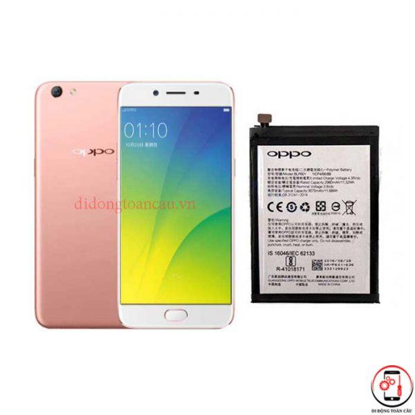Thay pin Oppo R9s