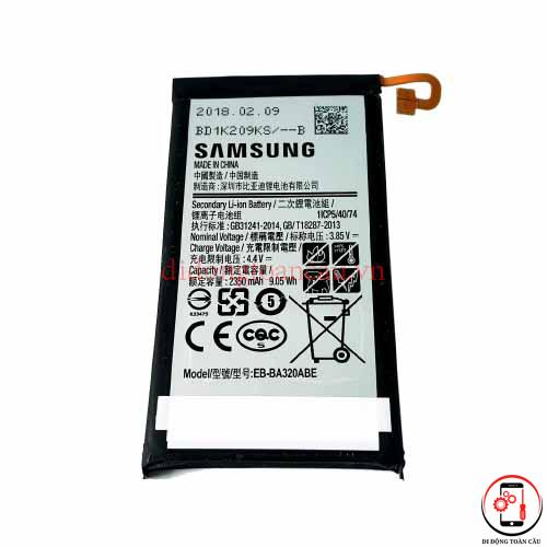 Thay pin Samsung A3 2017