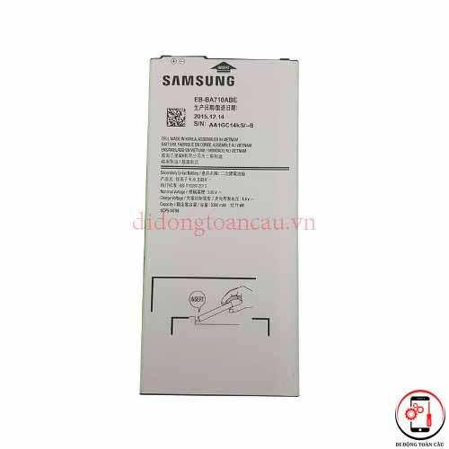 Thay pin Samsung A5 2016