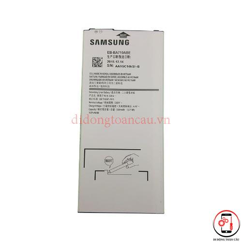 Thay pin Samsung A7 2016