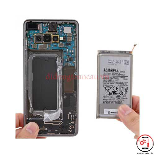 Thay pin Samsung S10