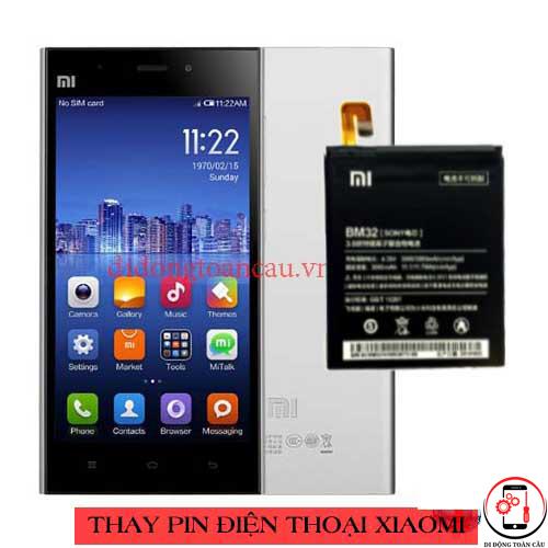 Thay pin Xiaomi Mi 3