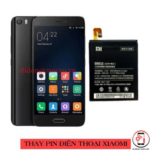 Thay pin Xiaomi Mi 5c