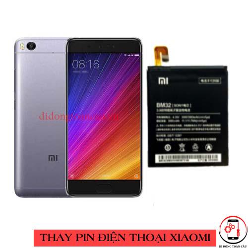 Thay pin Xiaomi Mi 5s