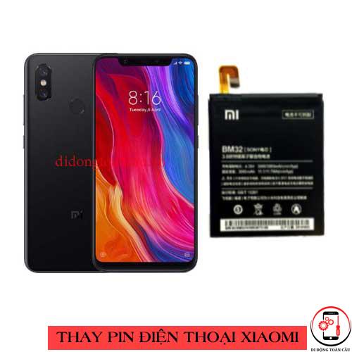 Thay pin Xiaomi Mi 8