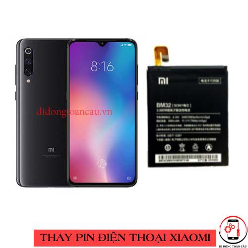 Thay pin Xiaomi Mi 9