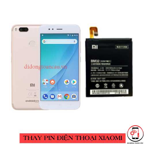 Thay pin Xiaomi Mi A1
