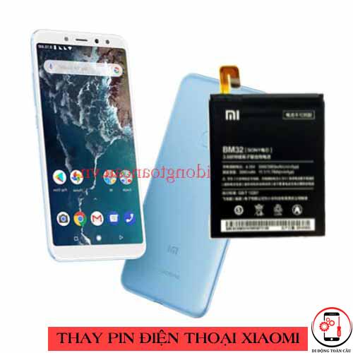 Thay pin Xiaomi Mi A2