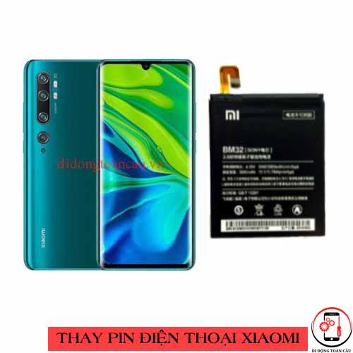 Thay pin Xiaomi Mi CC9 Pro