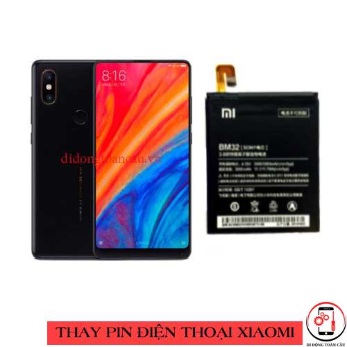 Thay pin Xiaomi Mi Mix 2s