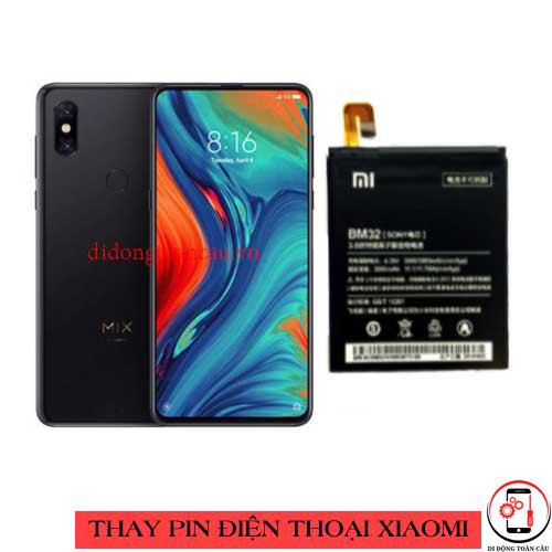 Thay pin Xiaomi Mi Mix 3 5G