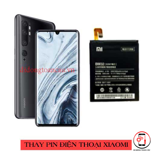 Thay pin Xiaomi Mi Note 10 Pro