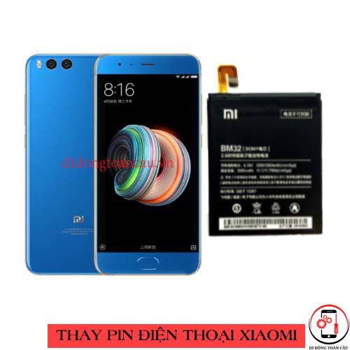 Thay pin Xiaomi Mi Note 3