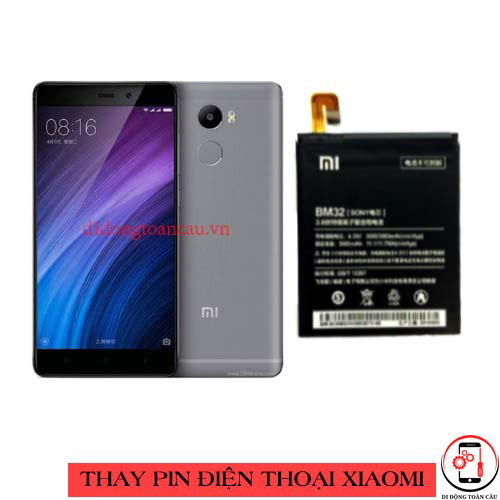 Thay pin Xiaomi Redmi 4 Prime