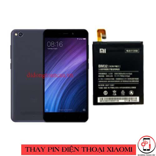 Thay pin Xiaomi Redmi 4a
