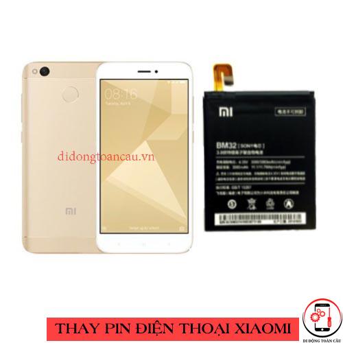 Thay pin Xiaomi Redmi 4x