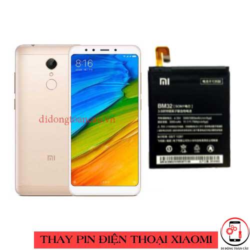 Thay pin Xiaomi Redmi 5