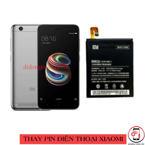 Thay pin Xiaomi Redmi 5a
