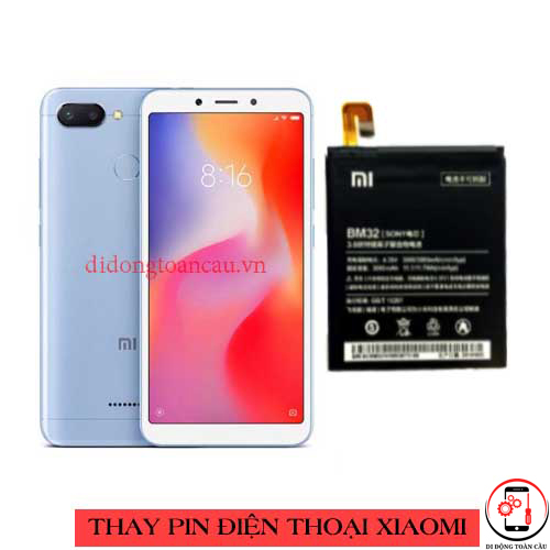Thay pin Xiaomi Redmi 6