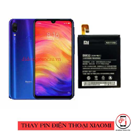 Thay pin Xiaomi Redmi 7 Pro