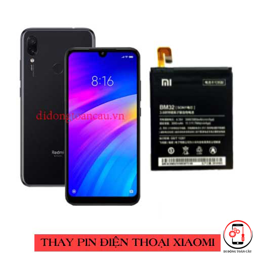 Thay pin Xiaomi Redmi 7