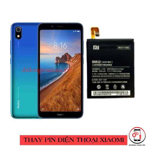 Thay pin Xiaomi Redmi 7a
