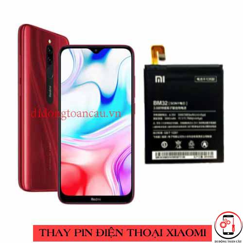 Thay pin Xiaomi Redmi 8