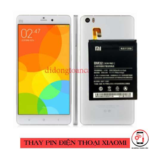 Thay pin Xiaomi Redmi Note 1
