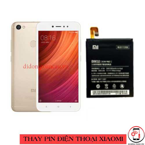 Thay pin Xiaomi Redmi Note 5a Prime