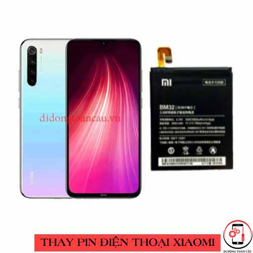Thay pin Xiaomi Redmi Note 8