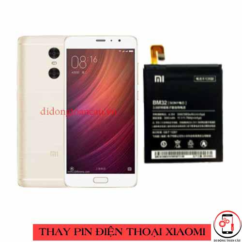 Thay pin Xiaomi Redmi Note Pro