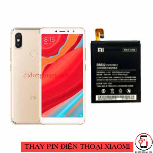 Thay pin Xiaomi Redmi S2